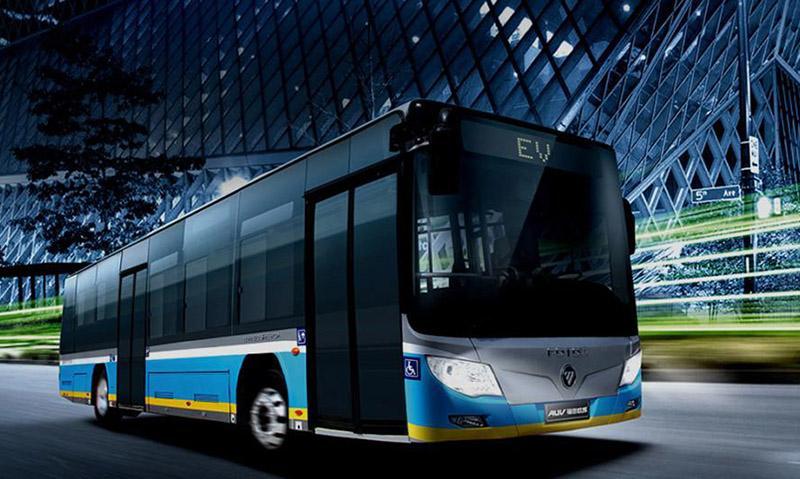FOTON:Первая партия низкопольных электроавтобусов Foton AUV BJ6105 для зимних Олимпийских игр 2018 доставлена в Пхенчхан