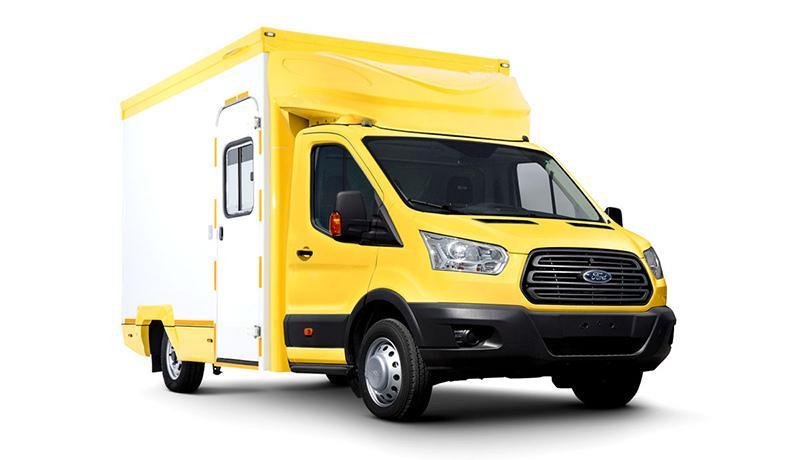 Ford:Ford Sollers сообщает о выпуске новой спецверсии Ford Transit Гримваген