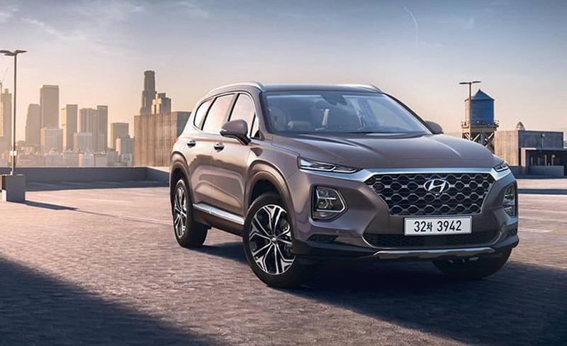 Первые изображения Santa Fe нового поколения от Hyundai Motor
