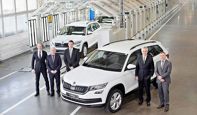 Volkswagen Group Rus и завод «Группы ГАЗ» объявили о старте производства модели ŠKODA KODIAQ