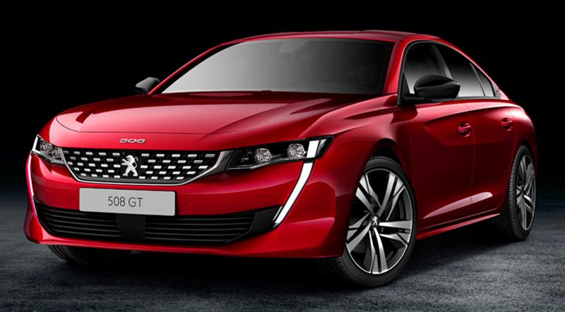 Peugeot:Новый PEUGEOT 508 с обновленной системой PEUGEOT i-Cockpit