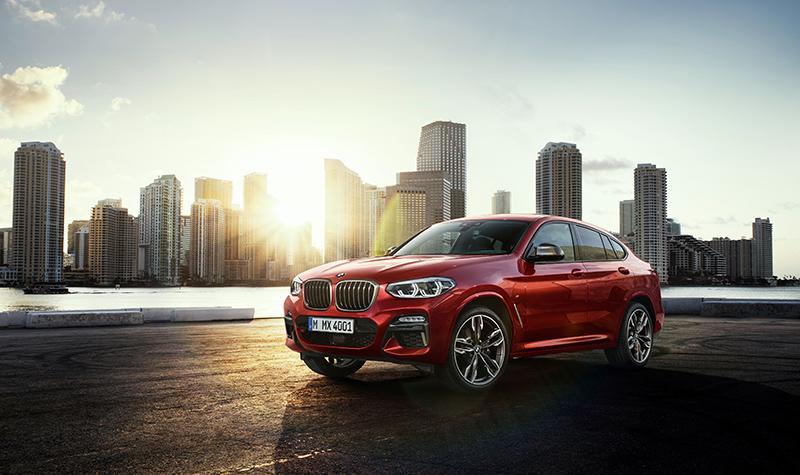 Новый BMW X4 стал еще более эффектным и динамичным