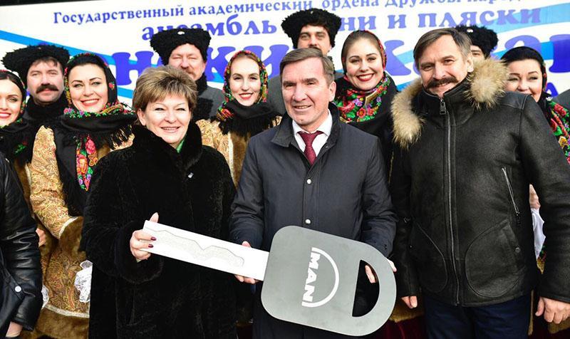 Первый MAN Lion's Coach R07 нового поколения поставлен в Россию