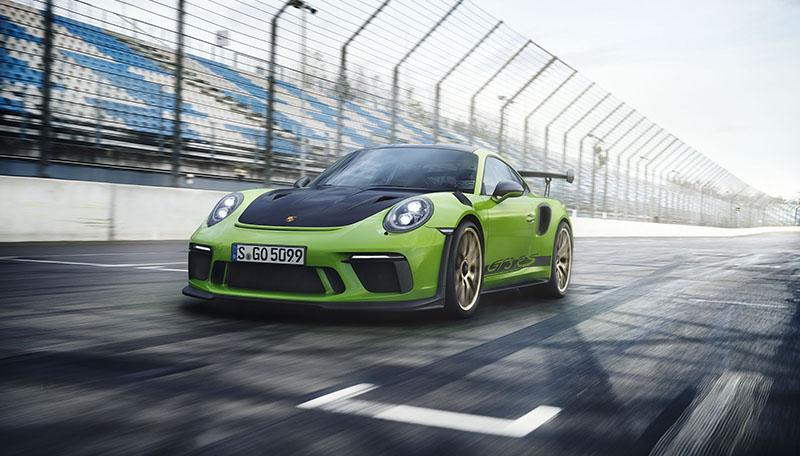 Porsche:Porsche Motorsport на Женевском автосалоне представляет новинку: Porsche 911 GT3 RS