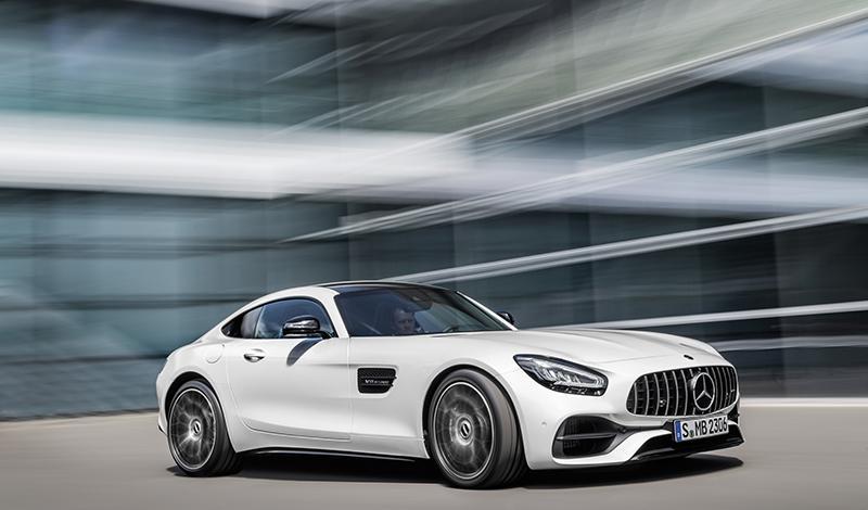 Новые Mercedes-AMG GT