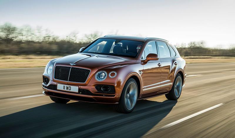 Bentley:Новый Bentayga Speed — самый быстрый серийный внедорожник в мире