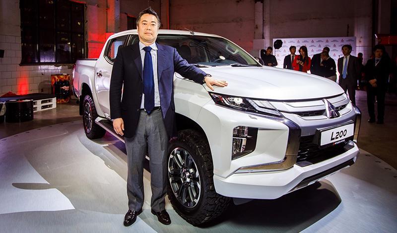 Mitsubishi:Mitsubishi объявила цену на рестайлинговый пикап L200