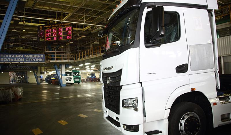 Kamaz:На заводе КАМАЗ собран первый КАМАЗ-54901 с кабиной К5
