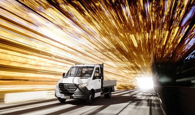 Mercedes-Benz:Три привода для нового Mercedes Sprinter 2018