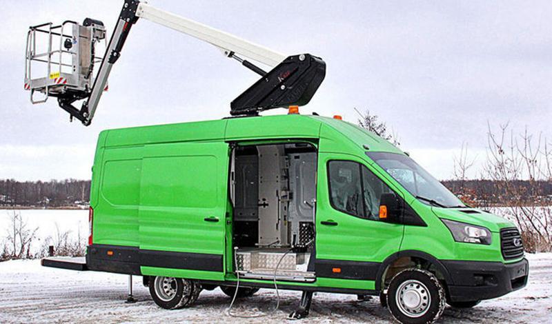 Ford:Ford Transit пополнился новой версией Ford Transit АГП-14Т