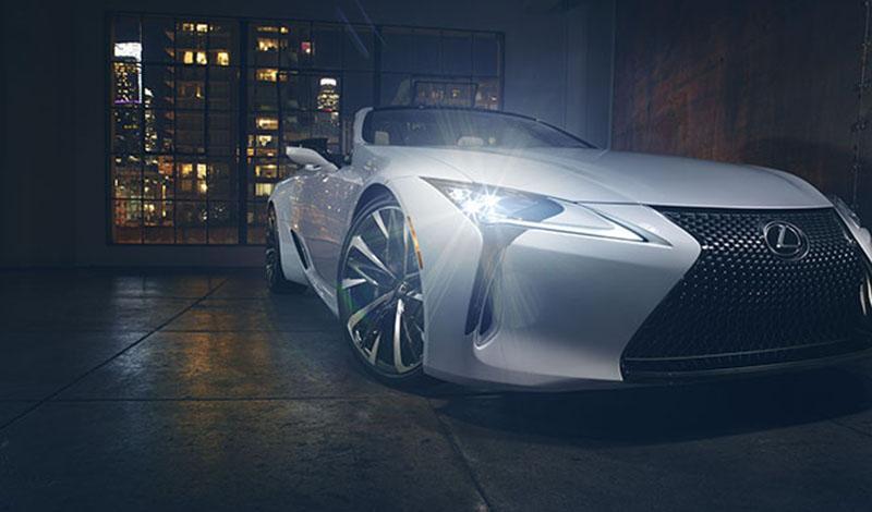 На Женевском автосалоне 2019 Lexus представит новую модель LC Convertible