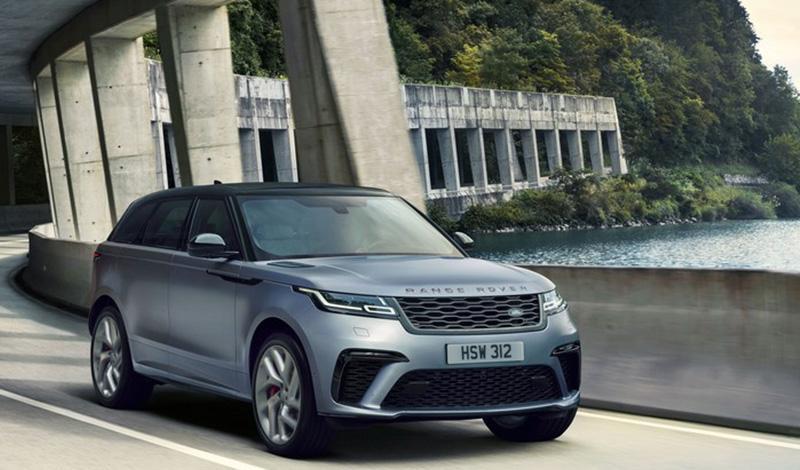 Land Rover представляет Range Rover Velar в версии SVAutobiography Dynamic