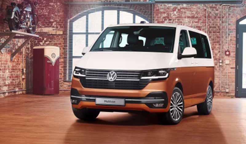 Volkswagen:Volkswagen представил рестайлинг Multivan 2019 года