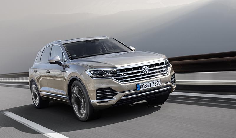 Женевский автосалон 2019: Volkswagen покажет Touareg с разгоном до 100 км/ч за 4.9 сек