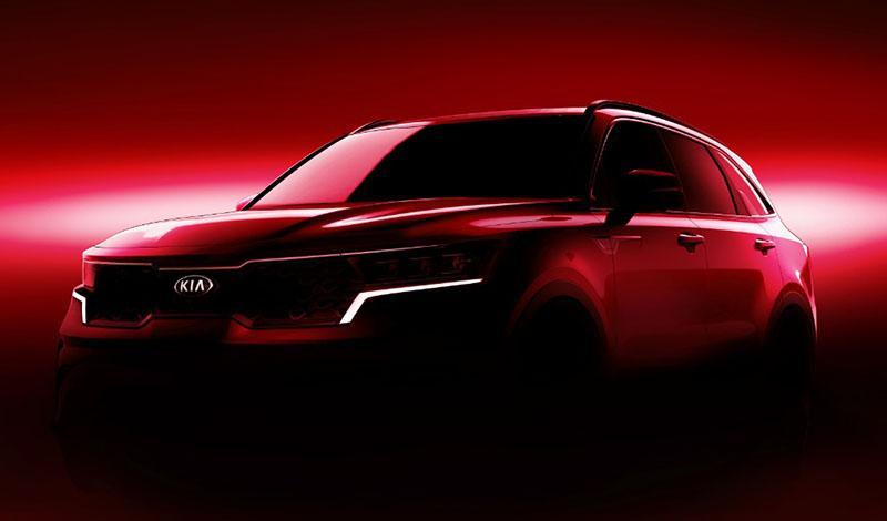 Женевский автосалон 2020: KIA представит новый Sorento 2020
