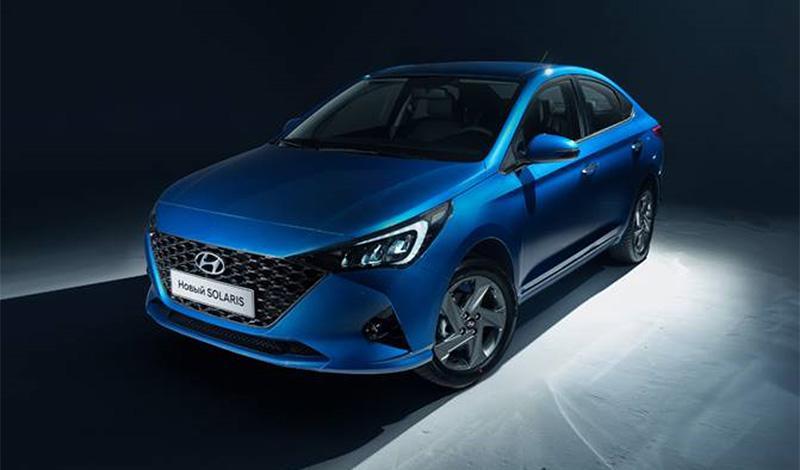 Hyundai показал рестайлинговый Solaris