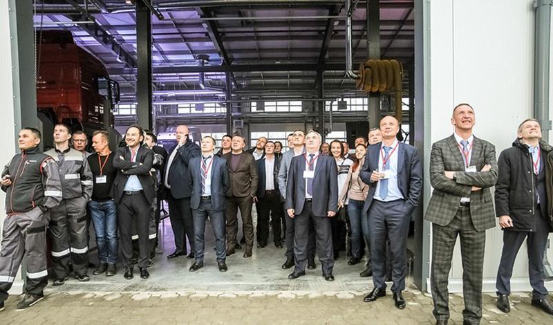 Открылся новый дилерский центр MAN  - «Центр Сервис Запад»