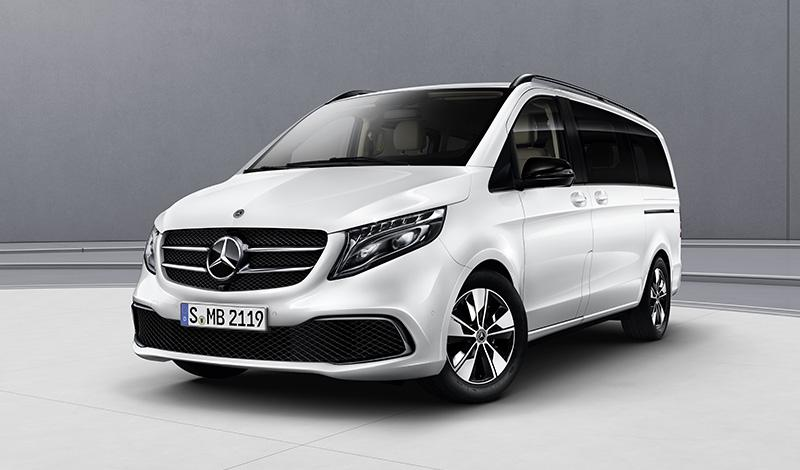 Пакет Night для Mercedes-Benz V-Класс
