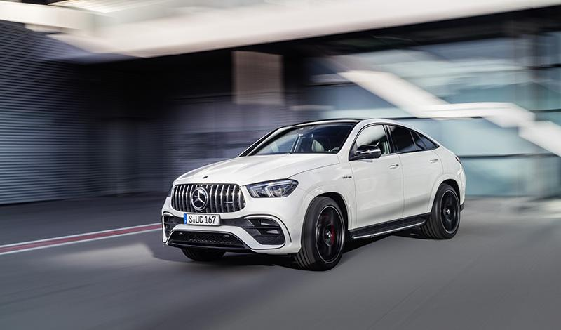 Mercedes представил AMG GLE 63 4MATIC+ Coupé и AMG GLE 63 S 4MATIC+Coupé