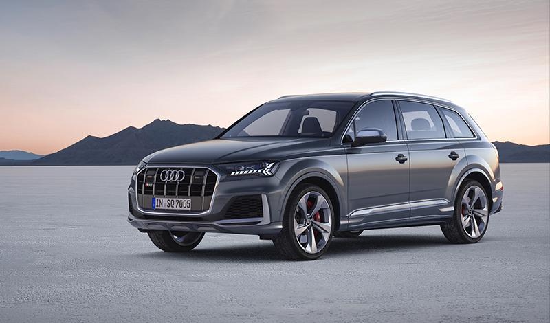 Audi:Audi начала принимать заказы на SQ7 2020