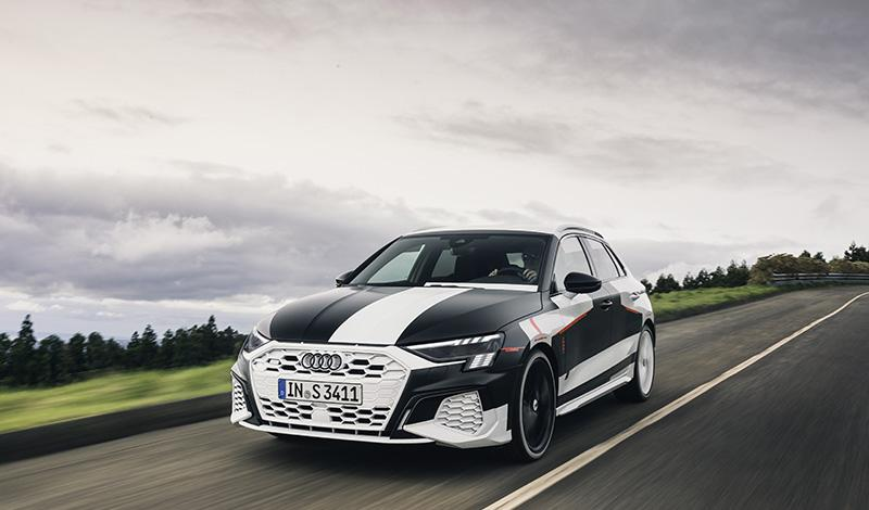 Audi:Женевский автосалон 2020: Audi представит новый A3 Sportback 2020