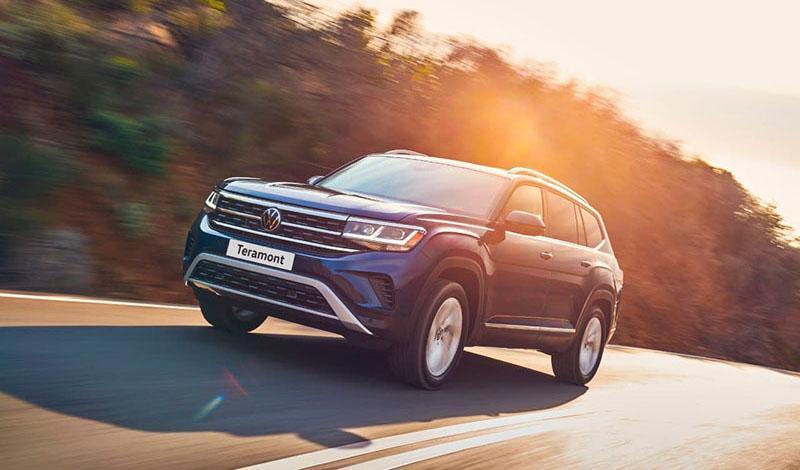 Обновленный Volkswagen Teramont добрался до России