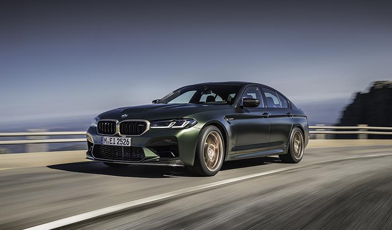 BMW представила ультраспортивную модель M5 CS 2021