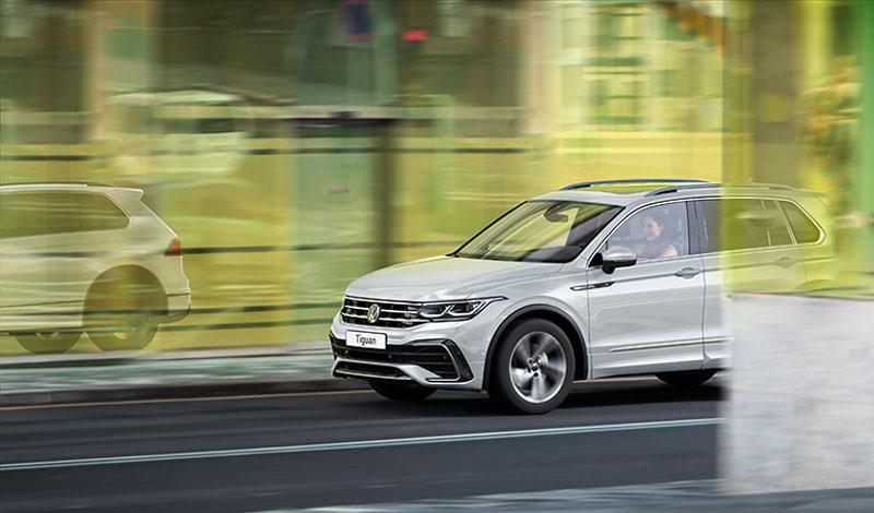 Обновленный Volkswagen Tiguan получил новые модификации и опции