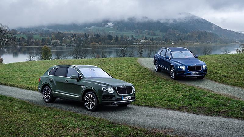 Bentley:Дизельный внедорожник Bentley Bentayga Diesel теперь доступен в России