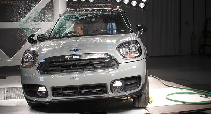 MINI:Новый MINI Countryman получил высший балл по краш-тесту Euro NCAP