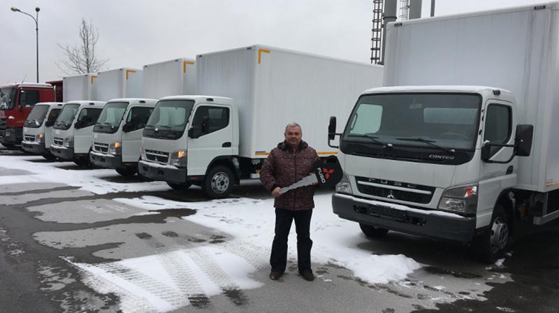 FUSO:ООО «Ставрополь Авто-Транс» приобрела 5 автомобилей Mitsubishi FUSO Canter