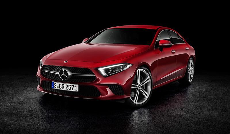 Mercedes-Benz представил новый CLS
