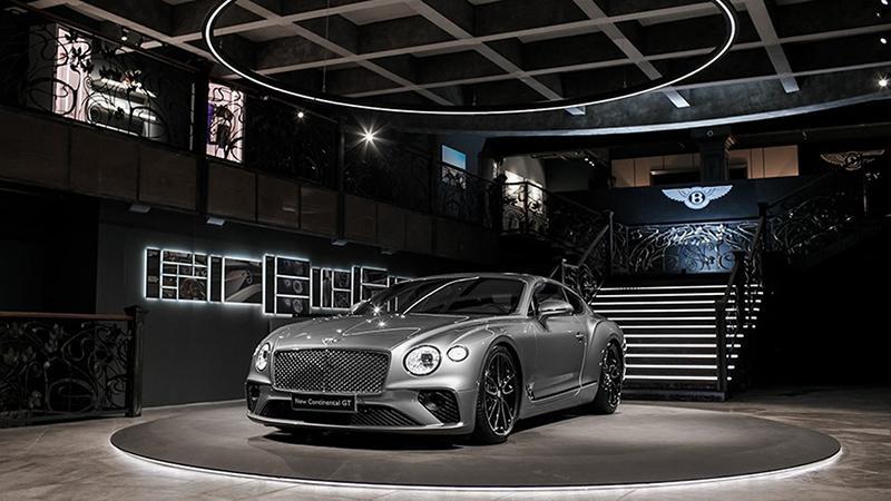 Bentley:Bentley представила новый революционный Continental GT третьего поколения