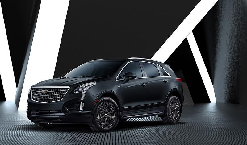 Cadillac представляет лимитированную серию кроссовера XT5 Black Ice для России