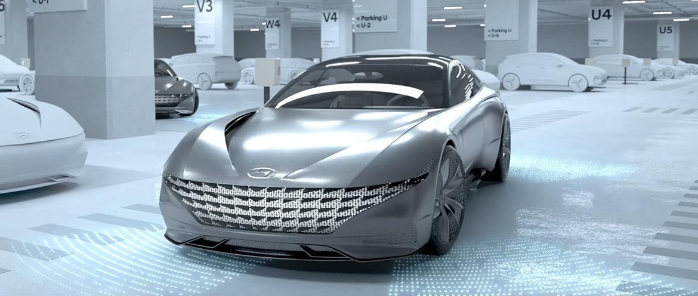Hyundai представляет новую концепцию зарядки электромобилей