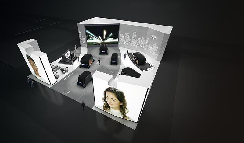 KIA представит ряд новых технологий на выставке Consumer Electronic Show 2019