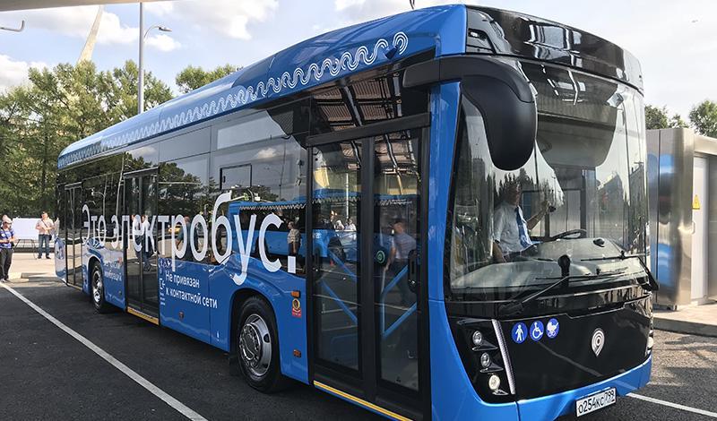 Kamaz:«КАМАЗ» заключил контракт с ГУП «Мосгортранс» на поставку 100 электробусов