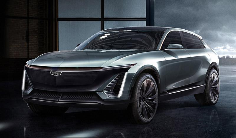 Cadillac представляет первый первый электромобиль