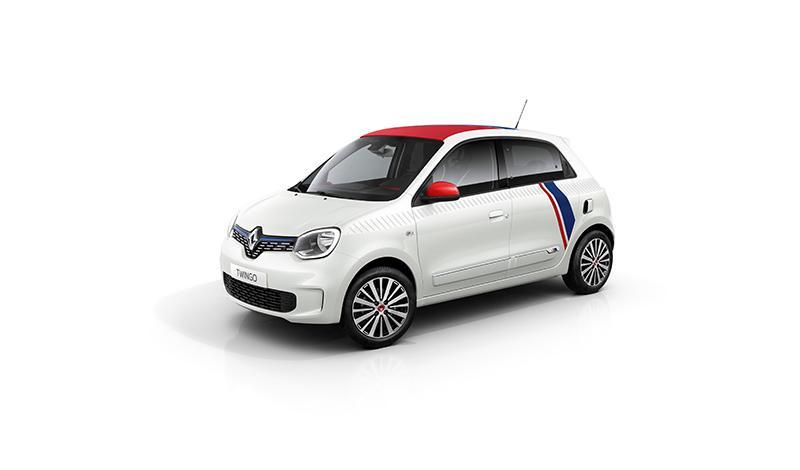 "Renault:Renault представляет новый TWINGO ""LE COQ SPORTIF"""