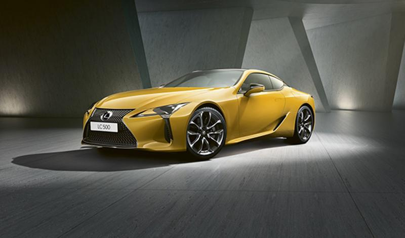 Lexus принимает заказы на новую специальную версию купе Lexus LC Yellow Edition