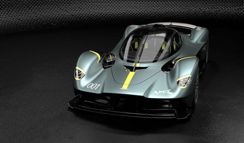 Aston Martin Valkyrie получит тюнинг-пакет AMR Track Performance