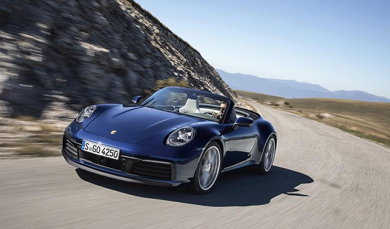 Porsche:Porsche представит новый 911 Cabriolet 2019 модельного года