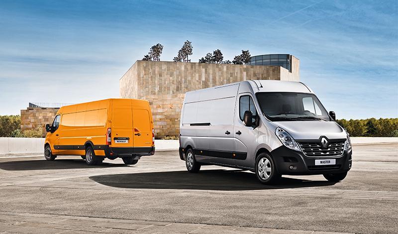 Renault:Renault Master фургон доступен для заказа в России