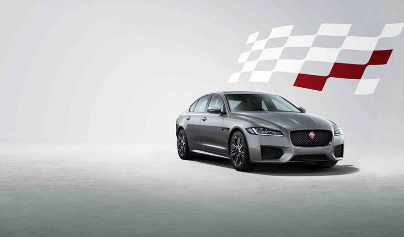 Jaguar представляет специальную версию Chequered Flag для XF
