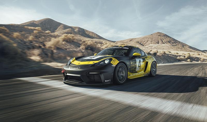 Porsche представляет новый 718 Cayman GT4 Clubsport 2019 года