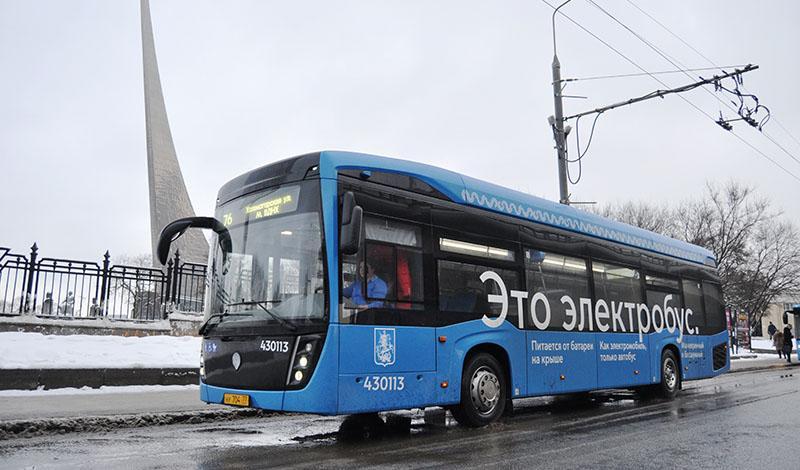 Электроавтобусы КАМАЗ в Москве перевезли миллион пассажиров