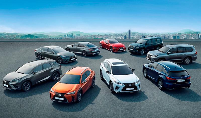 Lexus:Модели Lexus начиная с производства 2020 года получили идентификатор L-Mark
