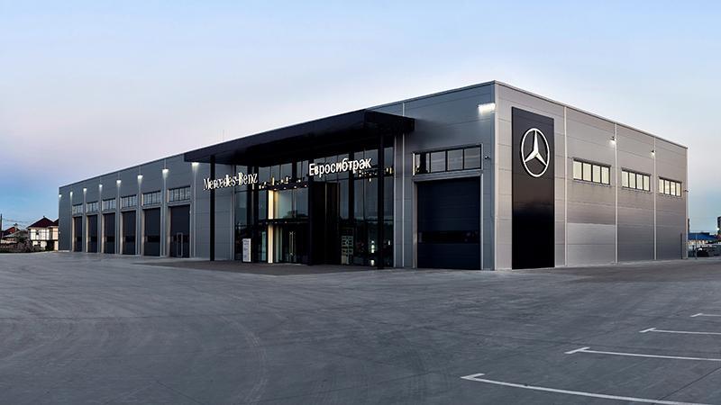 Mercedes-Benz:В Омске открылась серия станций по обслуживанию малотоннажной техники Mercedes-Benz
