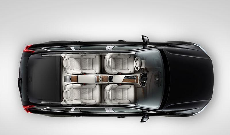 Volvo открывает приём заказов на четырёхместную версию модели XC90 - Excellence