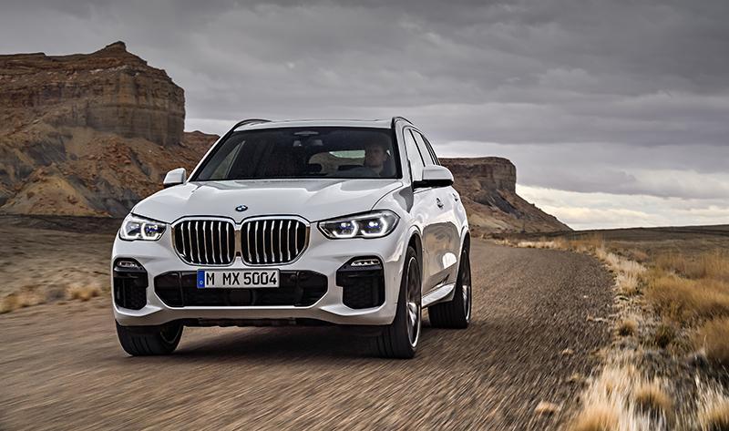 BMW Россия объявляет цены на новый флагманский SAV BMW X5